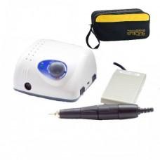 Аппарат профессиональный для маникюра и педикюра Strong 210/102L (35000 rpm) + Педаль + Сумка